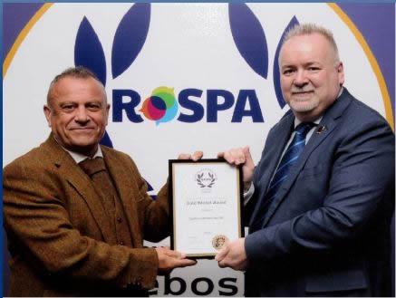 RoSPA Award Winners